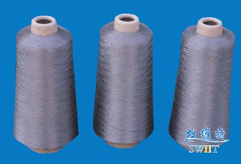 100% 316L stainless steel fiber spun yarn